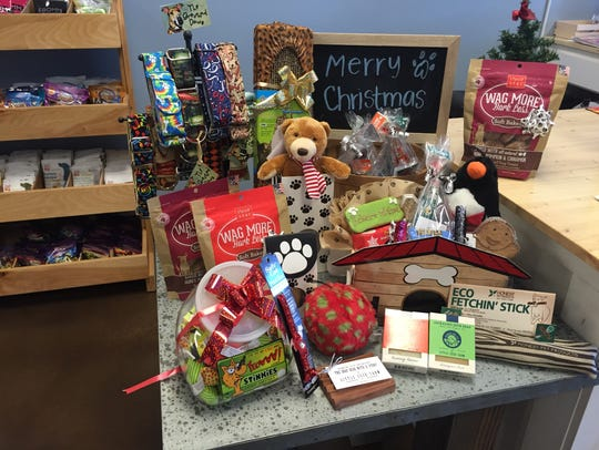 Some of the popular pet gift items at Licker and Whine