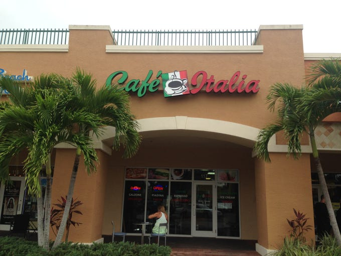 Cafe Italia opened a month ago in south Fort Myers,