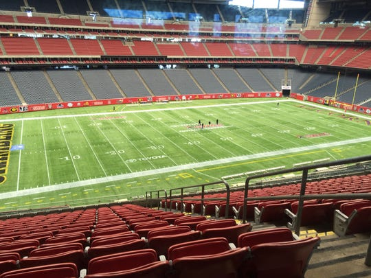 Pictured is NRG Stadium, home of the 2015 SWAC championship game. Grambling will meet Alcorn State on Saturday at 3 p.m.