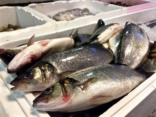 Fresh fish are flown in every Thursday from Portugal.