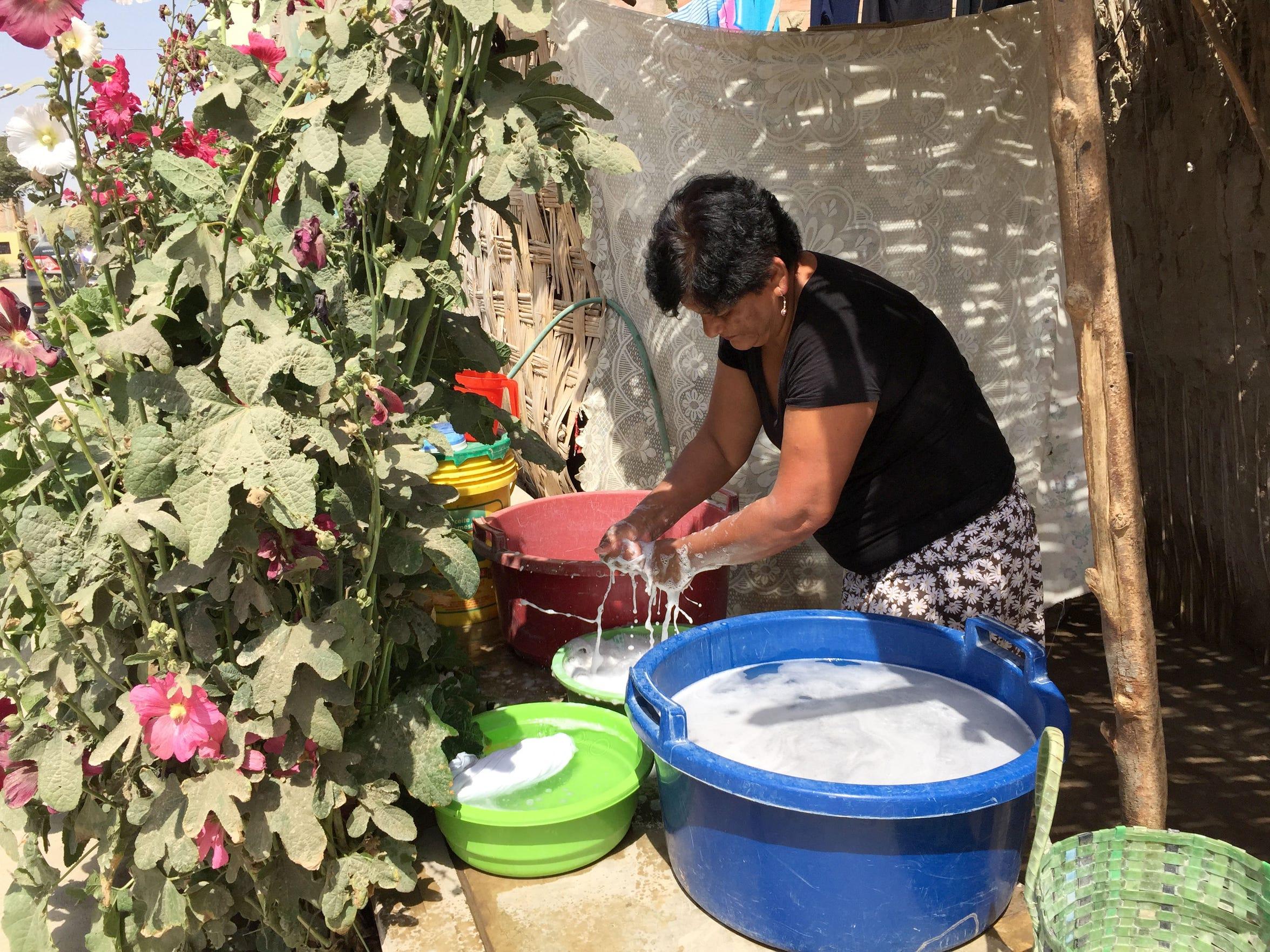 08102015 -- Ica, Peru --Farmworker Jesús Natividad
