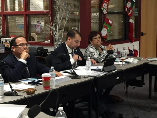El Paso Community College Trustees 12042015