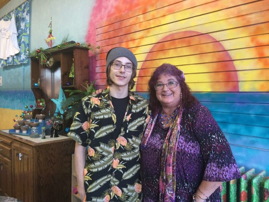 Zach Simpson and Julie Tews own Aloha Vapor, now open