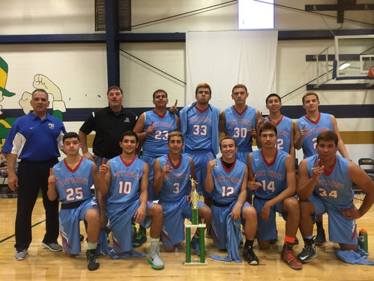 Anthony defeated Cathedral on Saturday in the finals