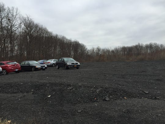 There appears to be plenty of room for expansion at the park and ride lot in Monsey. The parking lot, seen here on Dec. 8, is home to the former Rockland Drive-In Theatre, off Route 59.