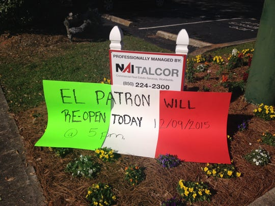 El Patron will reopen at 5 p.m. Wednesday after a shooting there in the early morning hours