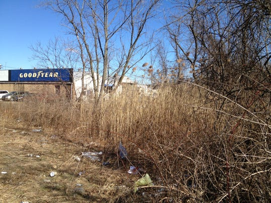 This 2013 file photo shows the site the county was proposing for a 372-space park-and-ride lot on Saddle River Road, just south of Route 59 in Monsey. Due to drainage concerns, it's now looking at state surplus land located slightly further east.