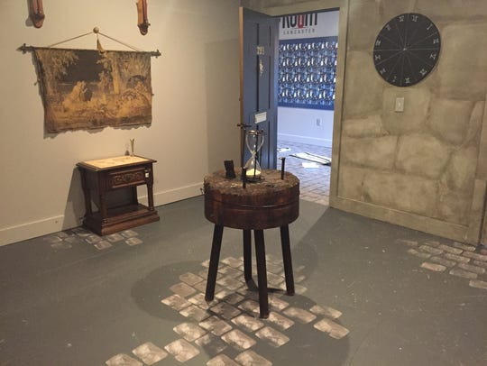 Solve the clues to get out of a locked room in less