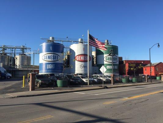 Genesee Brewing tanks