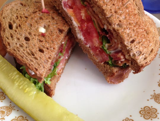 The BLT at Dolly's Produce Patch and Eatery in Bonita