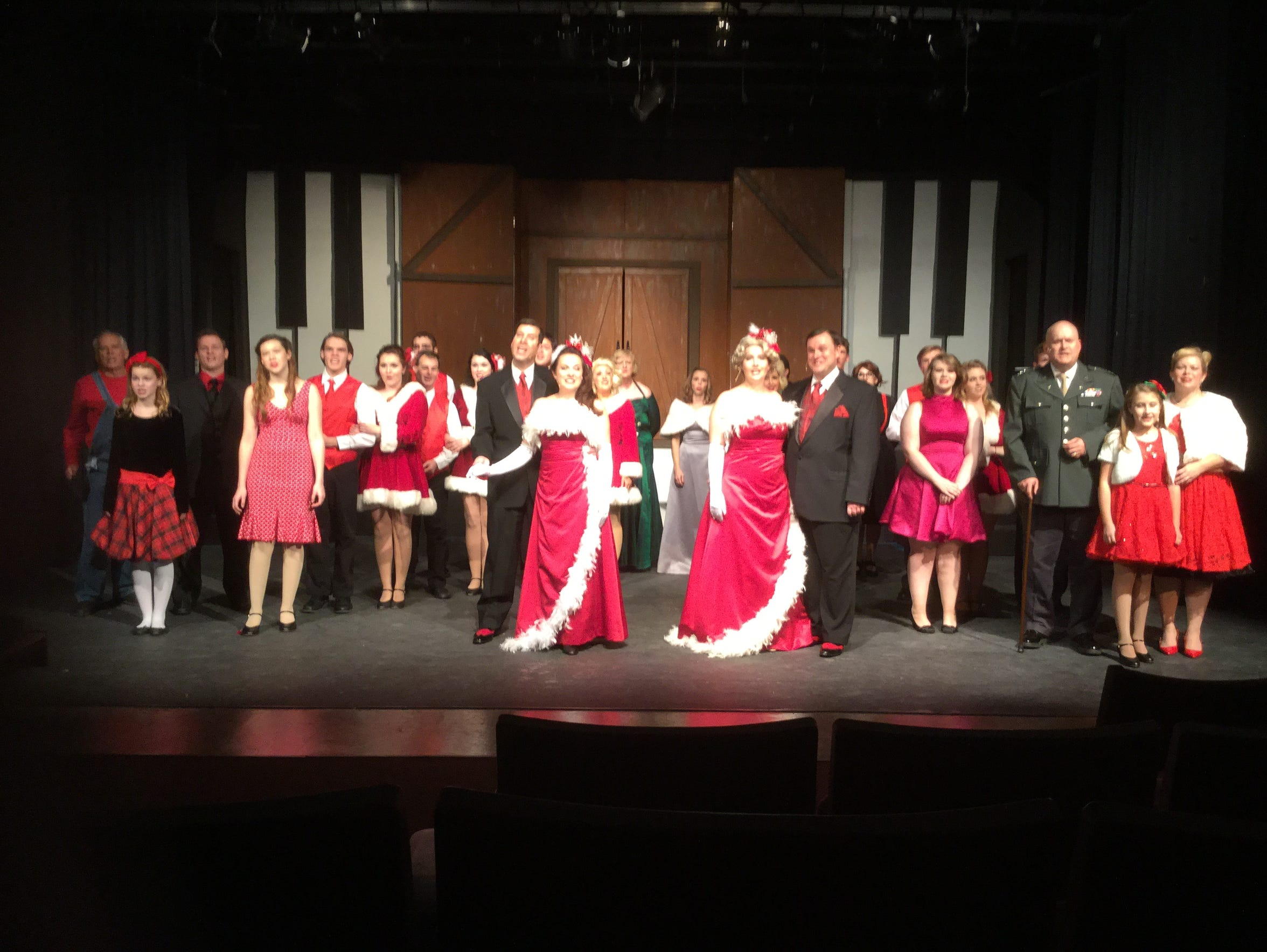 'White Christmas' is on stage one last weekend at Center