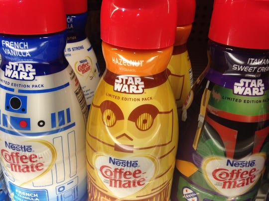Five flavors in limited edition Star Wars designed
