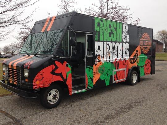 Capital Area Career Center officials say the Fast & Furious food truck is the first student-run food truck in Michigan. The design was created by Mikael Williams, center graduate, and another alumna, Kelsea Wulff, put together the business plan. The truck was unveiled Tuesday at the career center, just north of Mason.