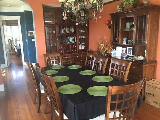 One of the dining areas a Saltgrass.