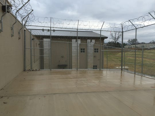Inmates will be permitted to use an outdoor recreation area.