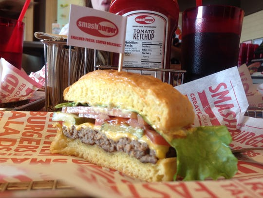 Smashburger is one of many restaurants that opened