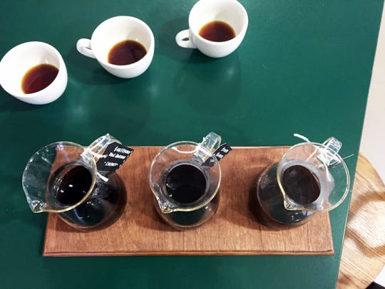 The new Mile Square Coffee shop in City Market offers