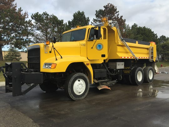A refurbished surplus military truck has joined the