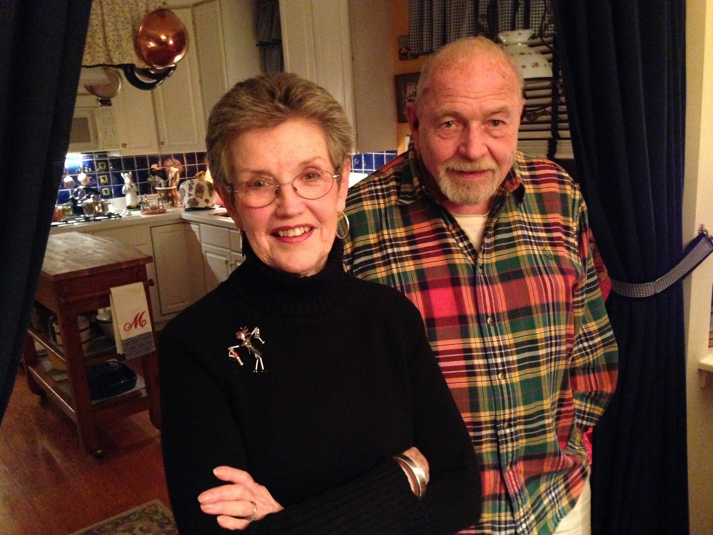 Marilyn and Peter Jessup volunteered to host one of the night's of the Las Posadas observance at their Lakewood home.