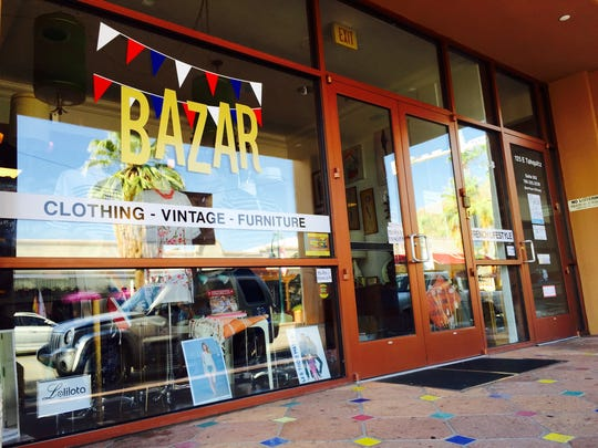 Bazar located at 125 E. Tahquitz Canyon Way in downtown Palm Springs.