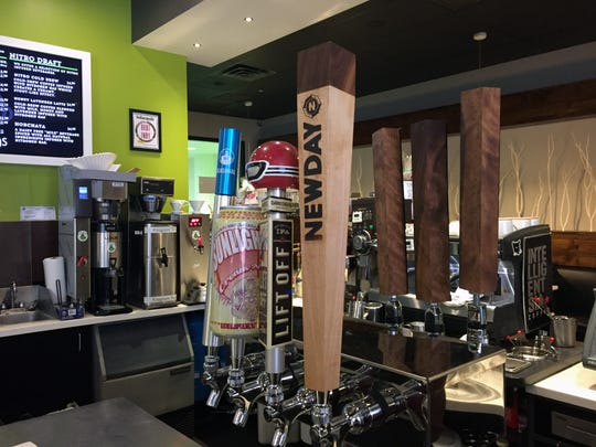 Pearings Cafe in Downtown Indianapolis added taps for craft beer, cider and cold brew coffee.