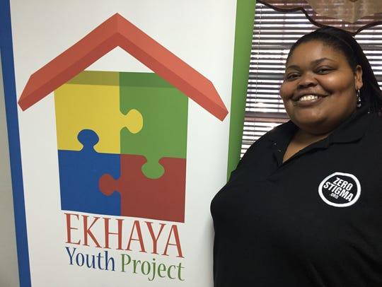 Keturah Darby,  regional program manager of Ekhaya
