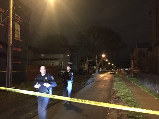 Rochester police investigate a shooting on Evergreen