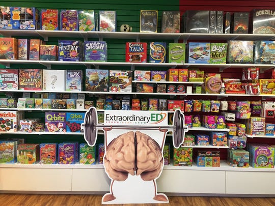 Extraordinary Ed in Collingswood sells lots of puzzles and games for families.