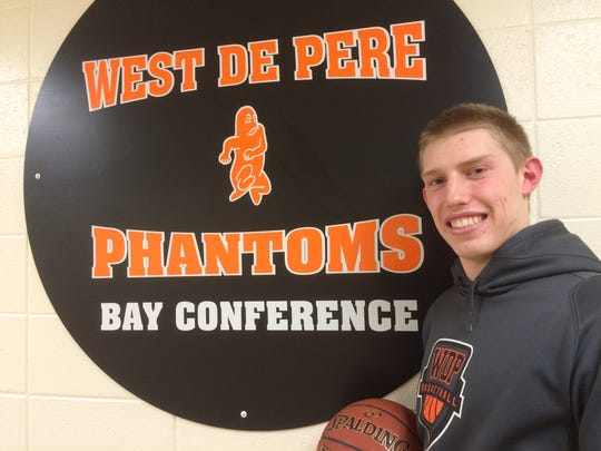 West De Pere senior Luke Pannier