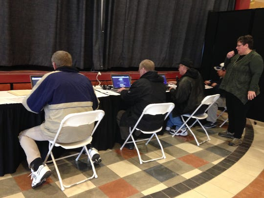 Tioga Downs held a career summit on Monday for people