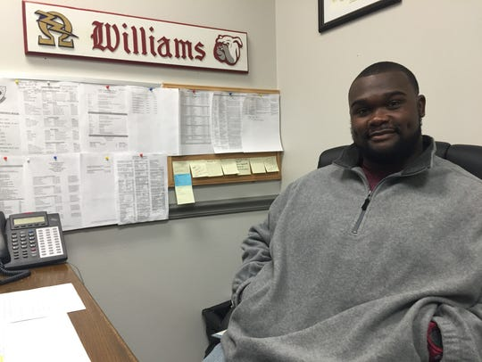 LaMarcus Williams, probation officer with Caddo's IDD