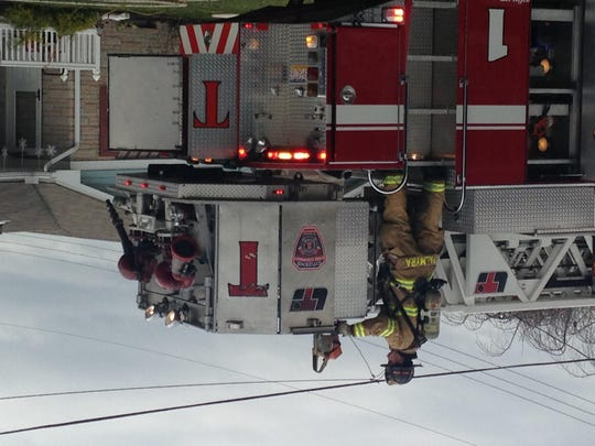 Palmyra fire crews work to put out a kitchen fire on