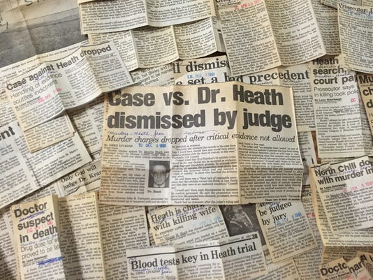 Dr. Heath newspaper clips