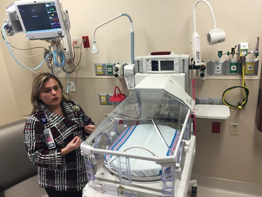 NICU and Nursing managing nurse Stephanie Elsten speaks