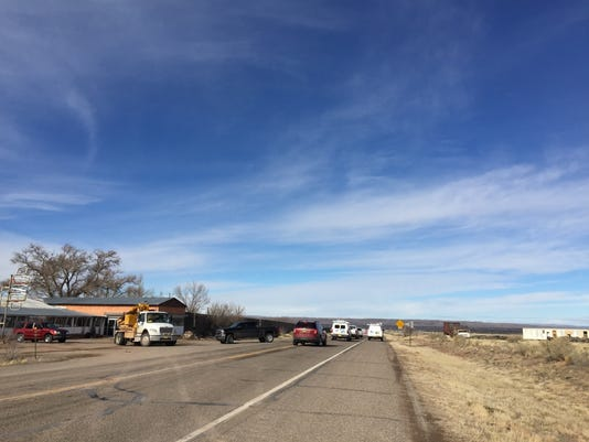 Standoff Roadblock