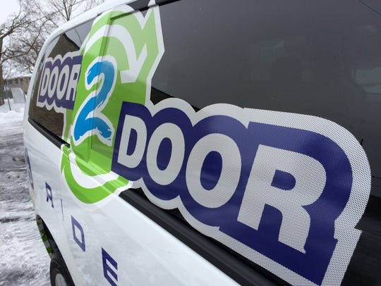 The Door 2 Door shared taxi rides are available to