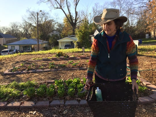 Grace Peterson teaches food and cooking classes and also acts as a coordinator for many of Shreveport's community gardens