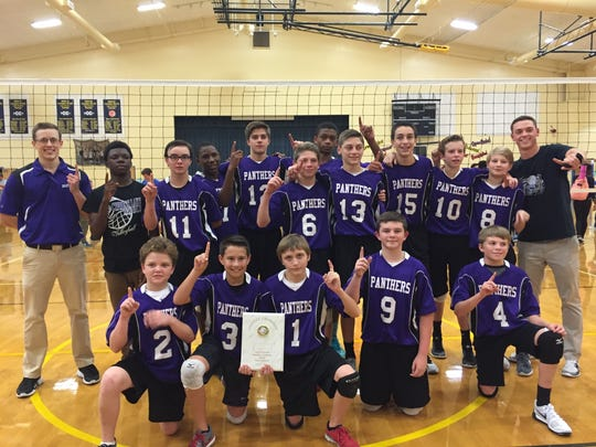 Cypress Lake Middle School boys won the Lee County championship.
