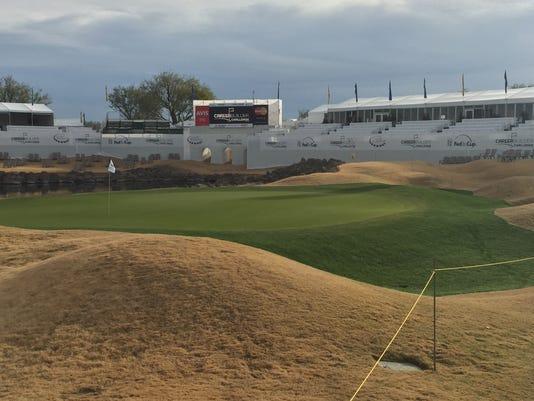 18th hole, TPC Stadium Course, PGA West