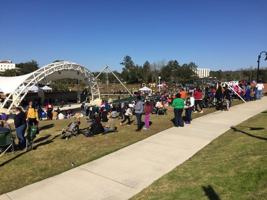 Thousands of Tallahassee residents gathered in Cascades Park on Monday for the 19th Annual Day of Dialogue. The event was held to encourage open conversations about race, culture and human relations.