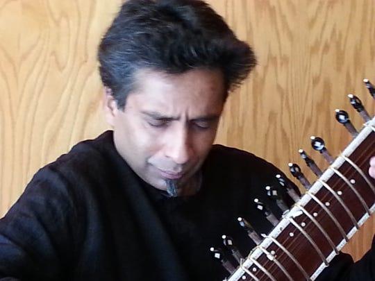 Ravi Shankar disciple Pandit Karthik Seshadri