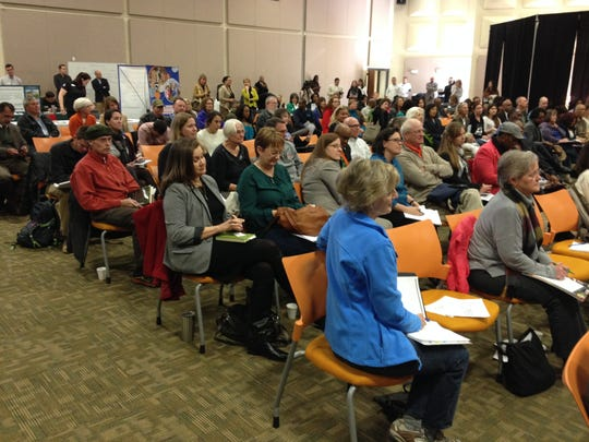 A crowd of about 150 attended U.S. Rep. Gewn Graham's Farm Tour kickoff Tuesday at Florida A&M University.