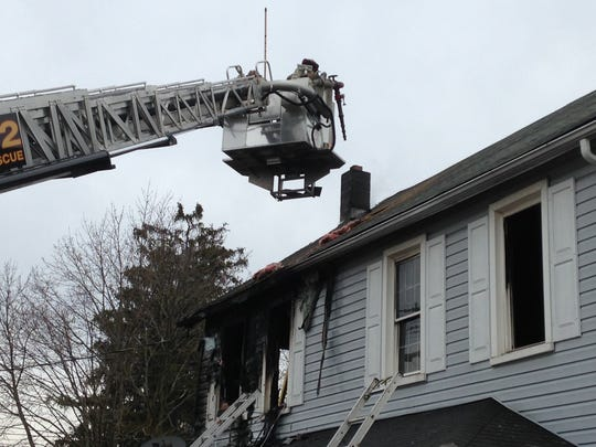 A fire marshal will be looking into what caused a fire at this Conewago Township home.