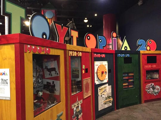 """Toytopia"" is the new exhibit at the Michigan Science Center."