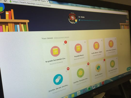 Class Dojo allows parents to receive real-time feedback