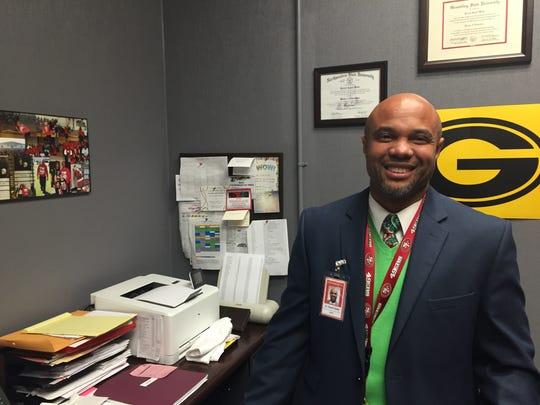 Turner Elementary School principal Darrell Webb has