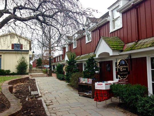 Peddler's Village is home to 65 specialty shops.