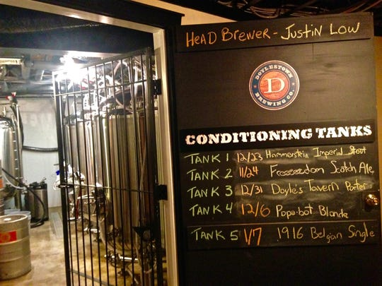 The Doylestown Brewing Company opened last May.