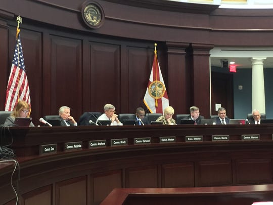 The Florida Commission on Ethics met Friday at the 1st District Court of Appeal.