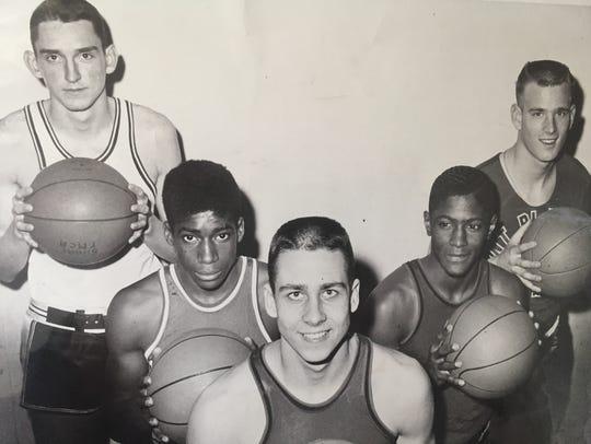 Long Branch's Tom Kerwin (far left) is shown as a member